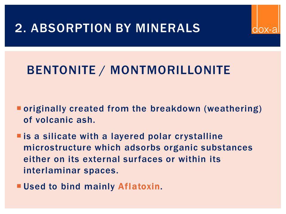Bentonite / Montmorillonite