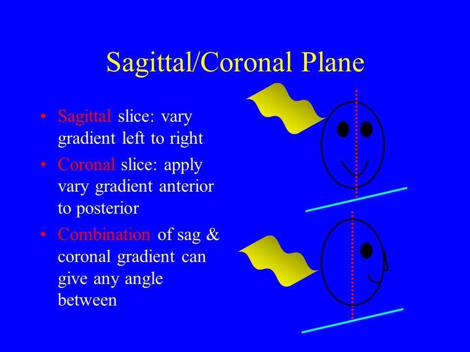 Sagittal/Coronal Plane