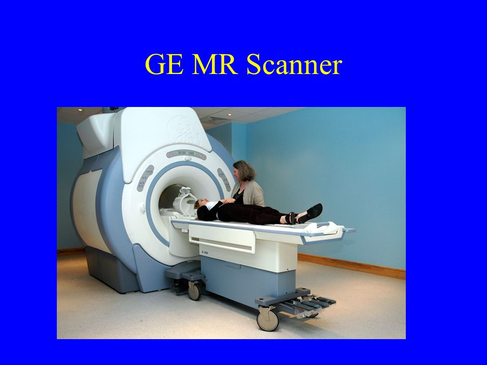 GE MR Scanner