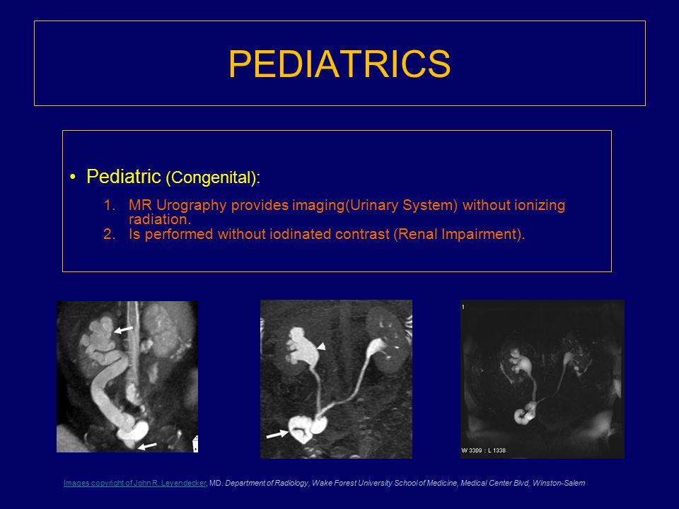 PEDIATRICS Pediatric (Congenital):