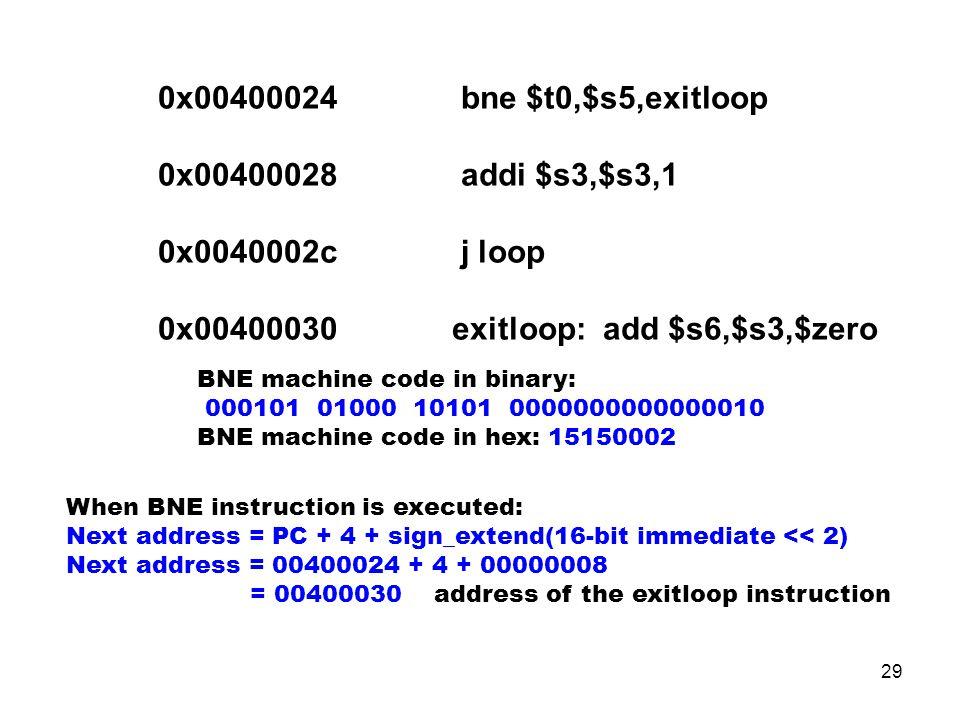 exitloop: add $s6,$s3,$zero