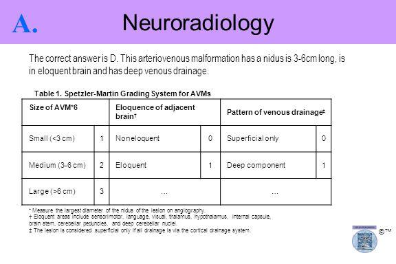 Neuroradiology A.