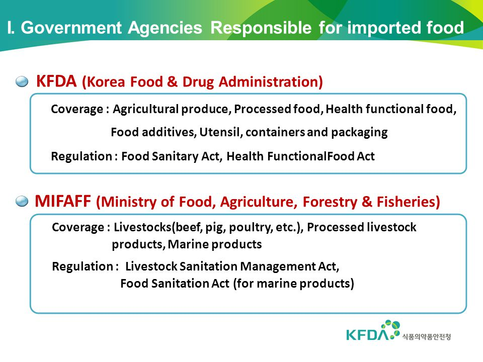 KFDA (Korea Food & Drug Administration)