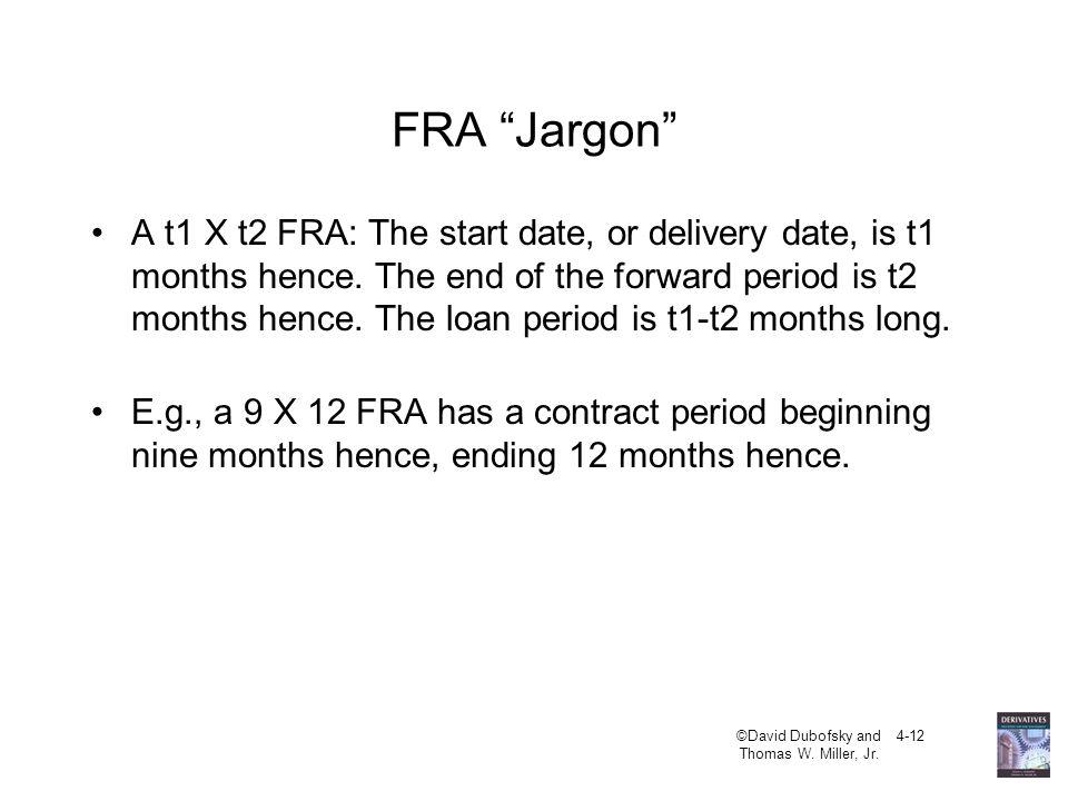 FRA Jargon