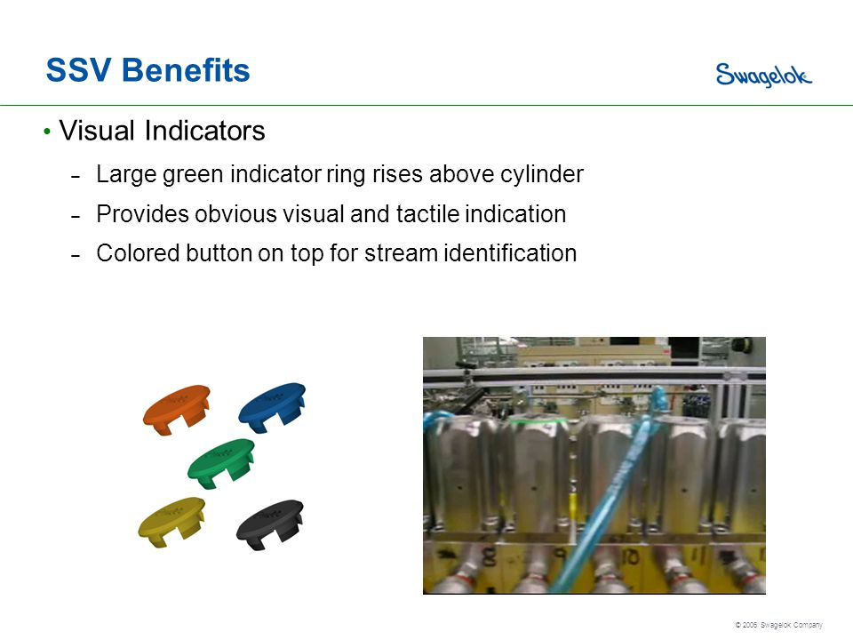 SSV Benefits Visual Indicators