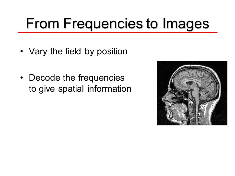 From Frequencies to Images
