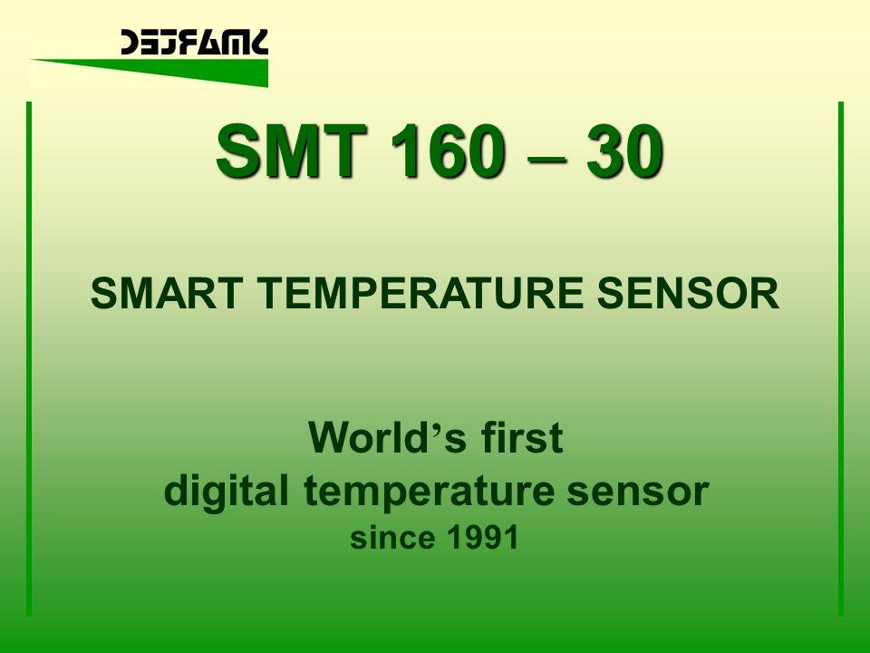 SMART TEMPERATURE SENSOR digital temperature sensor
