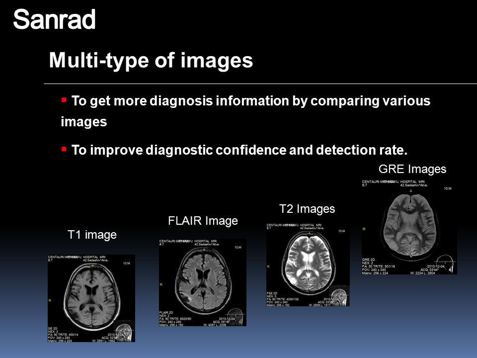 Sanrad Multi-type of images