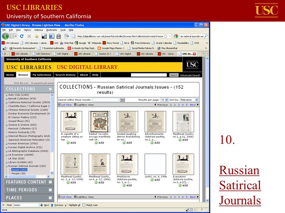 10. Russian Satirical Journals