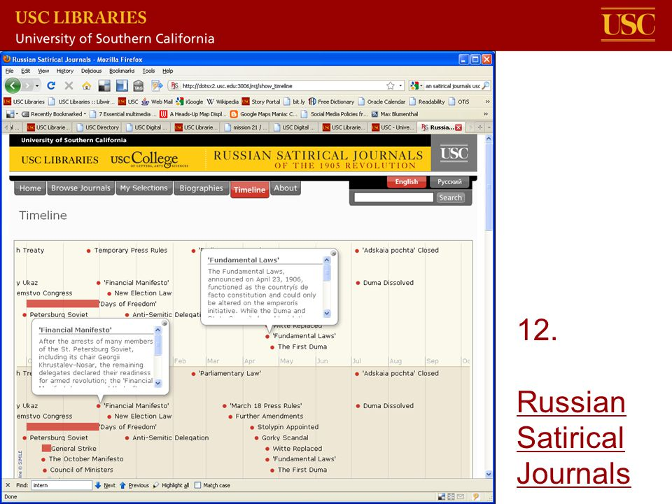 12. Russian Satirical Journals