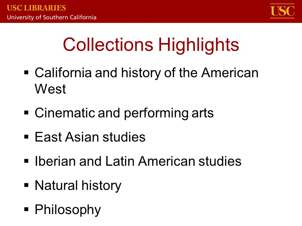 Collections Highlights