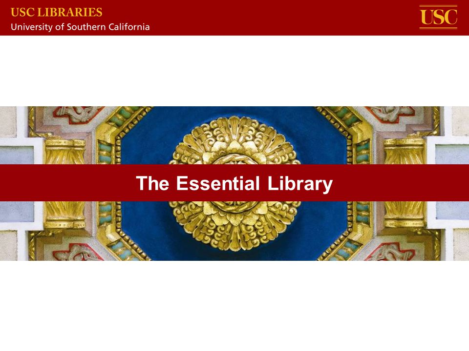 The Essential Library