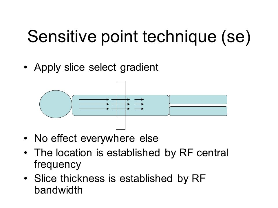 Sensitive point technique (se)