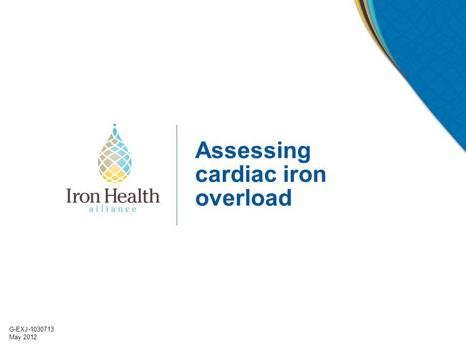 Assessing cardiac iron overload