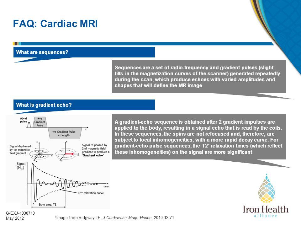 FAQ: Cardiac MRI What are sequences