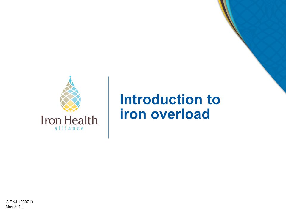 Introduction to iron overload