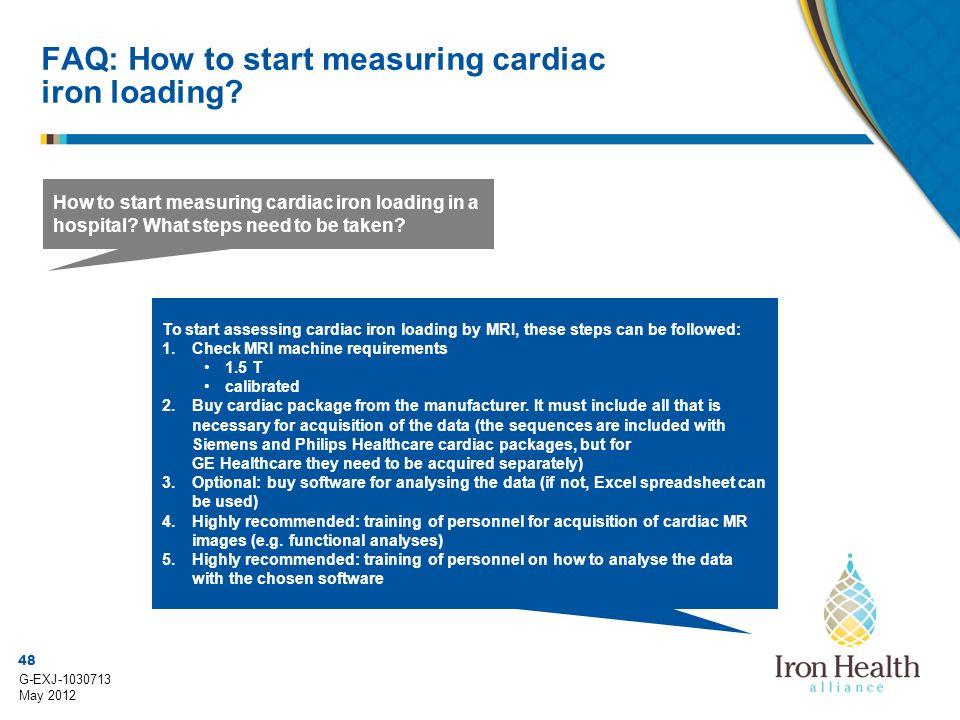FAQ: How to start measuring cardiac iron loading