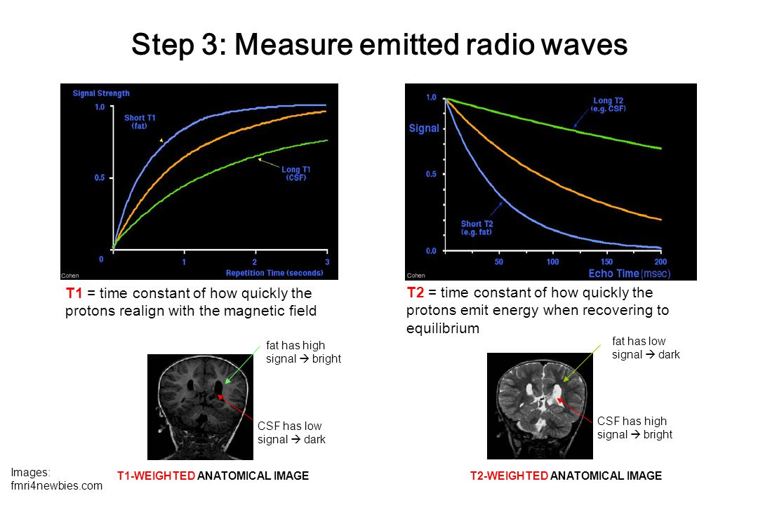 Step 3: Measure emitted radio waves