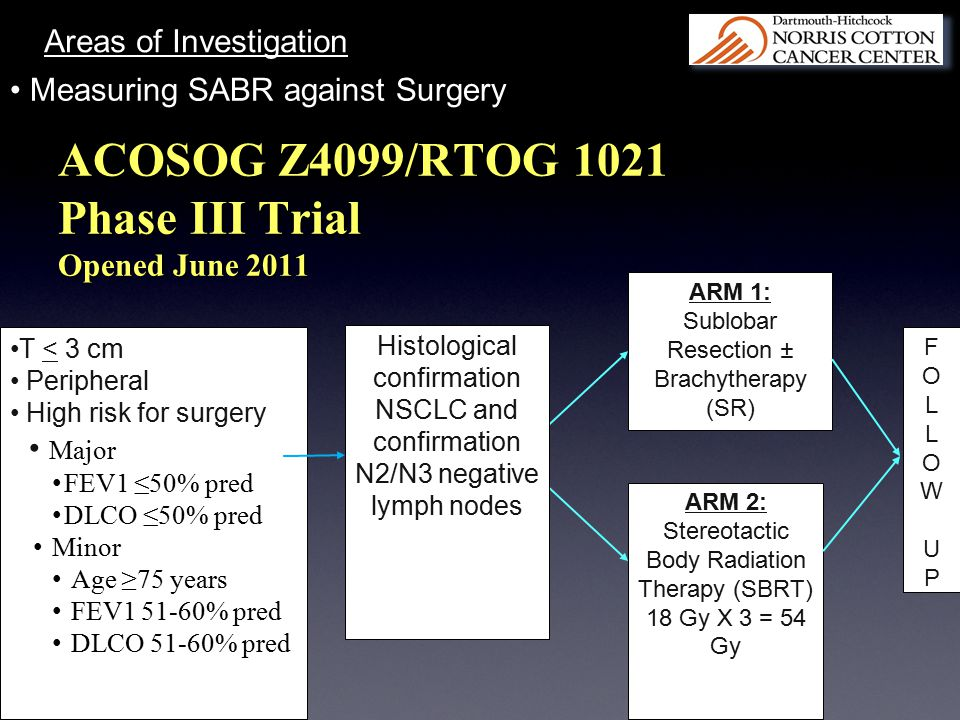 ACOSOG Z4099/RTOG 1021 Phase III Trial Opened June 2011