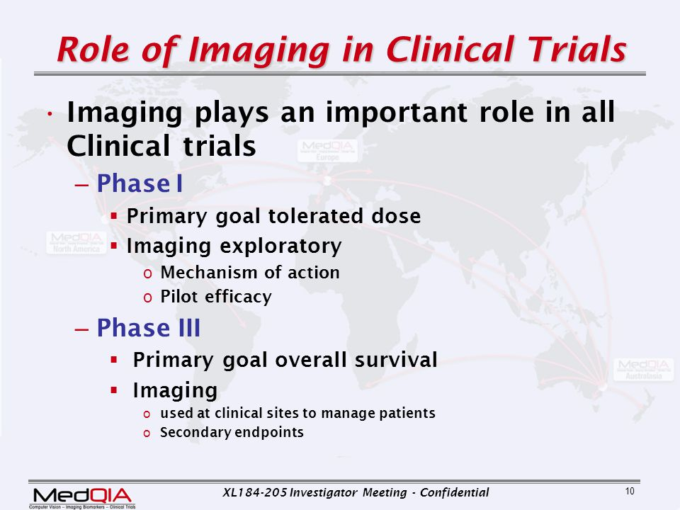 Role of Imaging in Clinical Trials