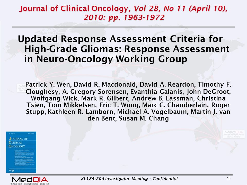 Journal of Clinical Oncology, Vol 28, No 11 (April 10), 2010: pp