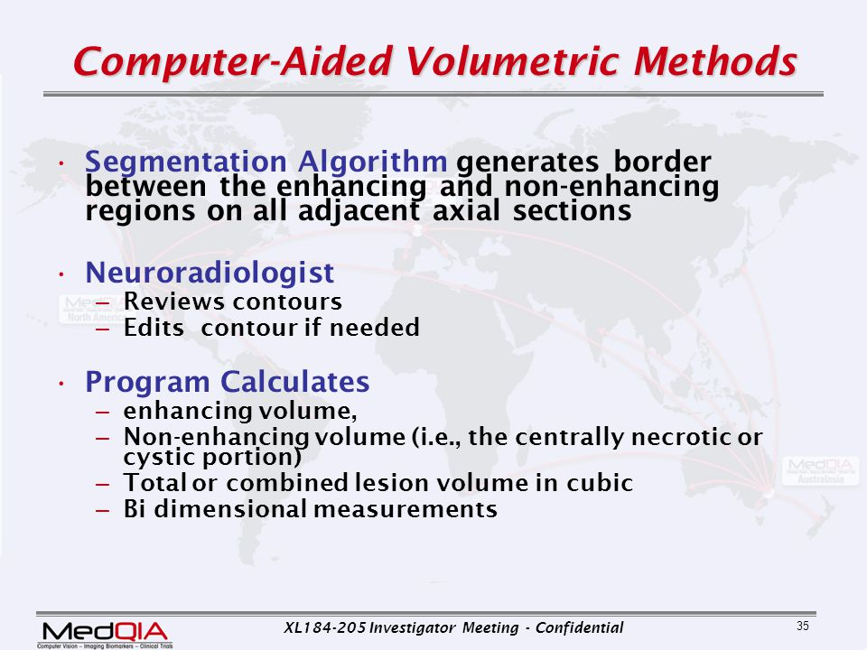 Computer-Aided Volumetric Methods