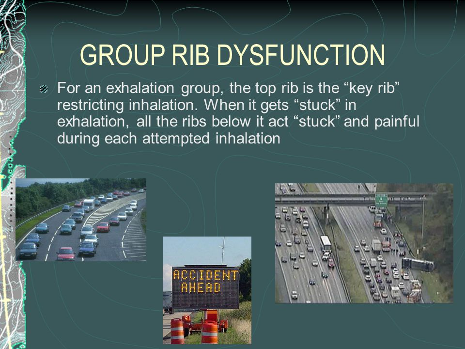 GROUP RIB DYSFUNCTION