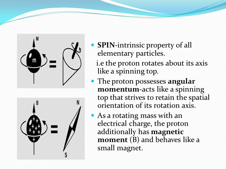 SPIN-intrinsic property of all elementary particles.