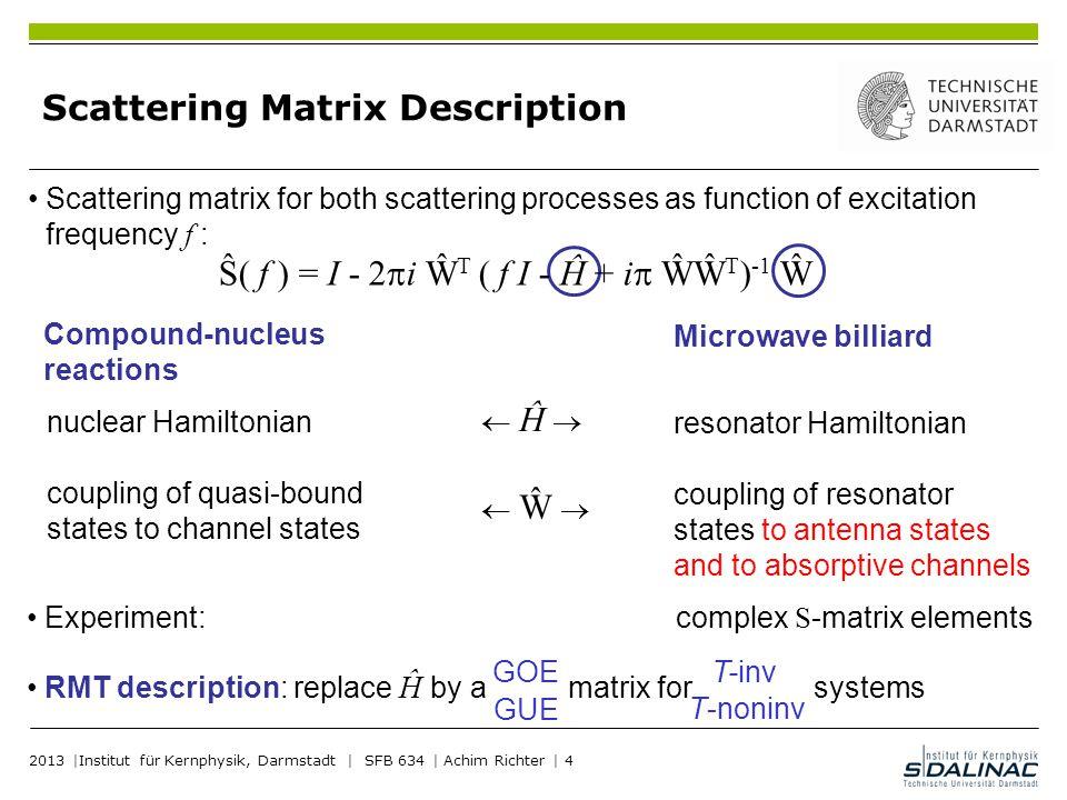 Scattering Matrix Description