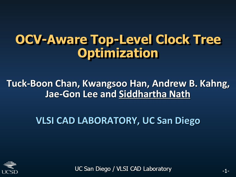 OCV-Aware Top-Level Clock Tree Optimization