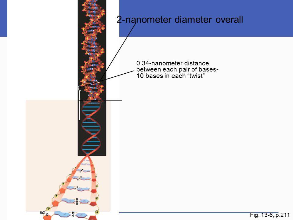 2-nanometer diameter overall