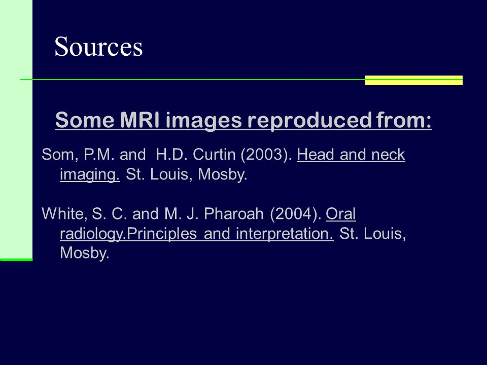 Some MRI images reproduced from: