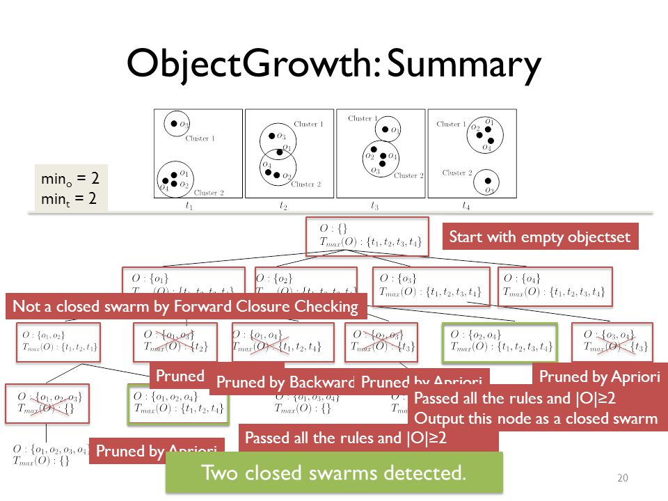 ObjectGrowth: Summary