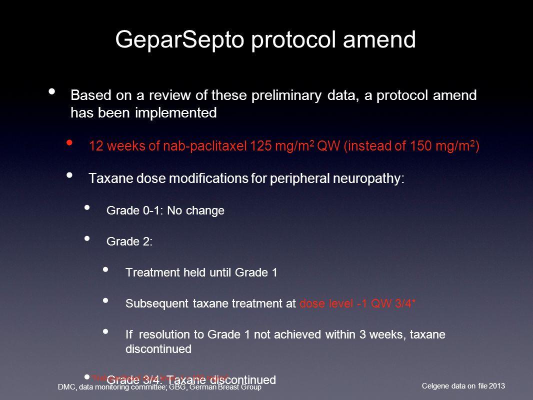 GeparSepto protocol amend