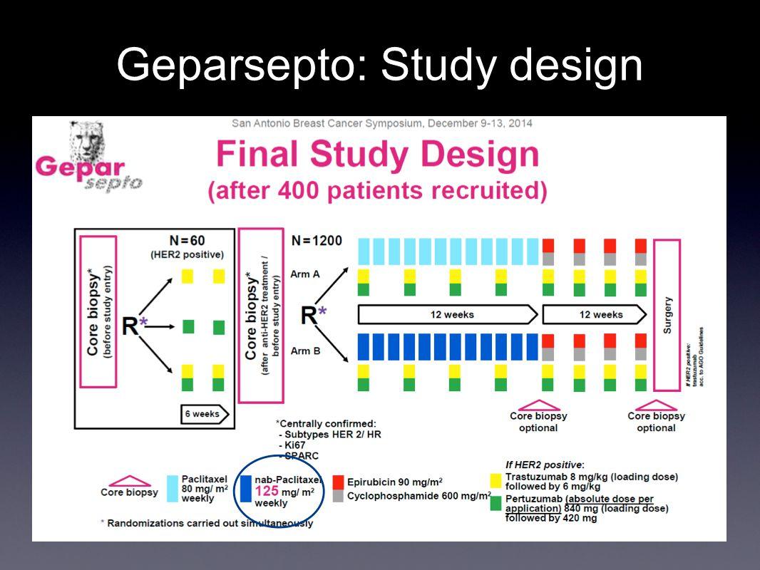 Geparsepto: Study design