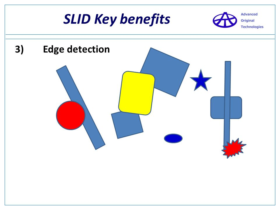 SLID Key benefits 3) Edge detection