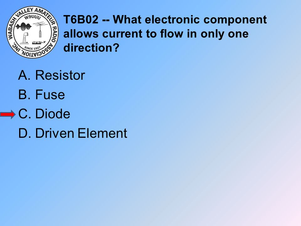 Resistor Fuse Diode Driven Element