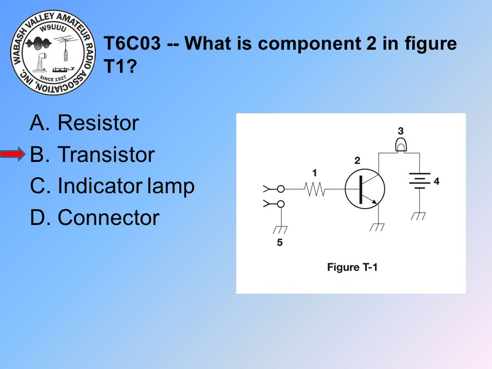 T6C03 -- What is component 2 in figure T1