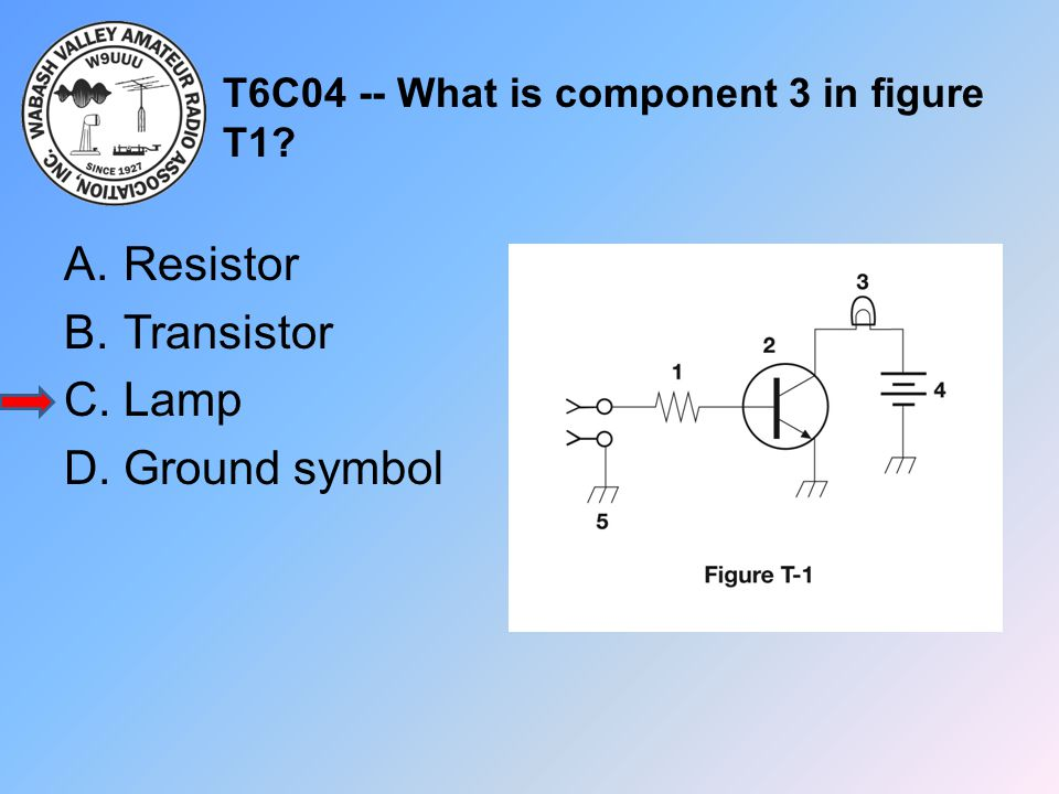 T6C04 -- What is component 3 in figure T1