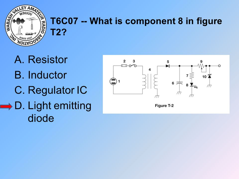 T6C07 -- What is component 8 in figure T2