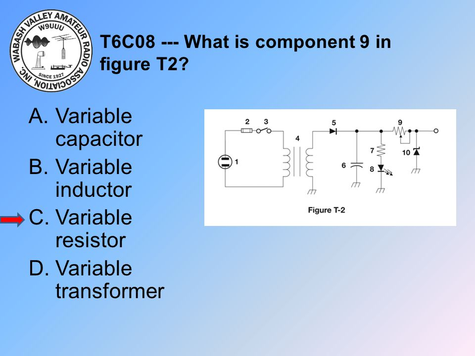 T6C08 --- What is component 9 in figure T2