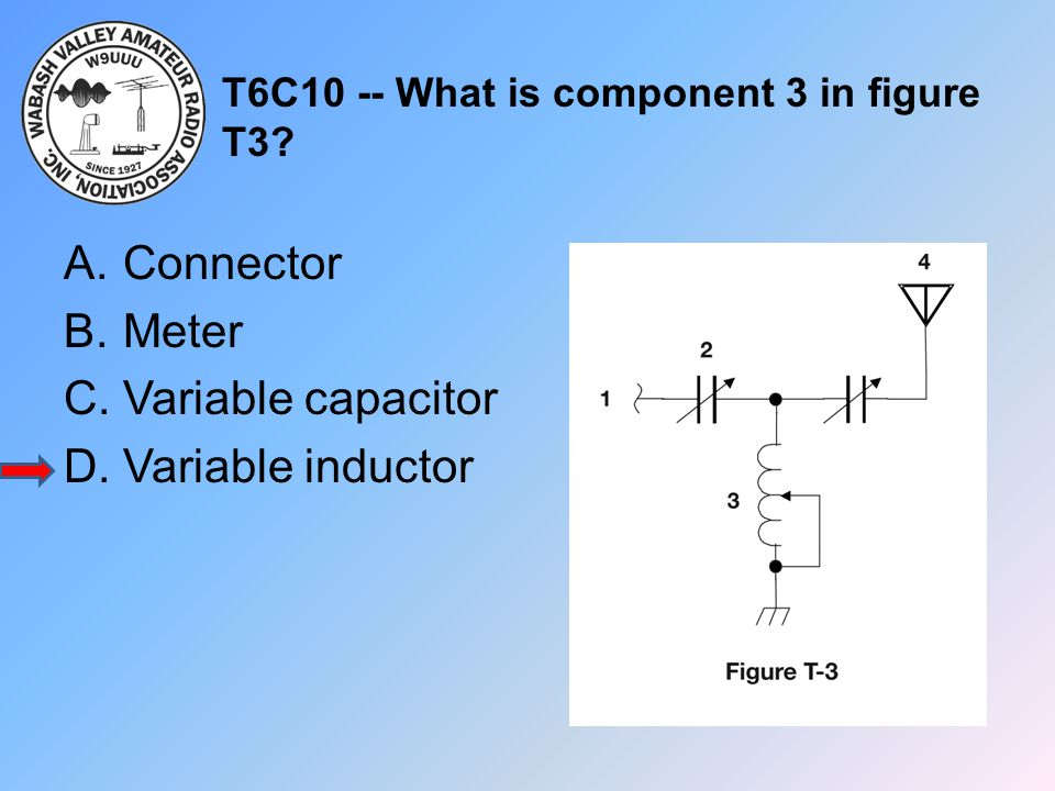 T6C10 -- What is component 3 in figure T3