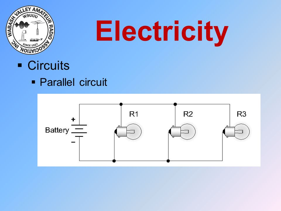 Electricity Circuits Parallel circuit