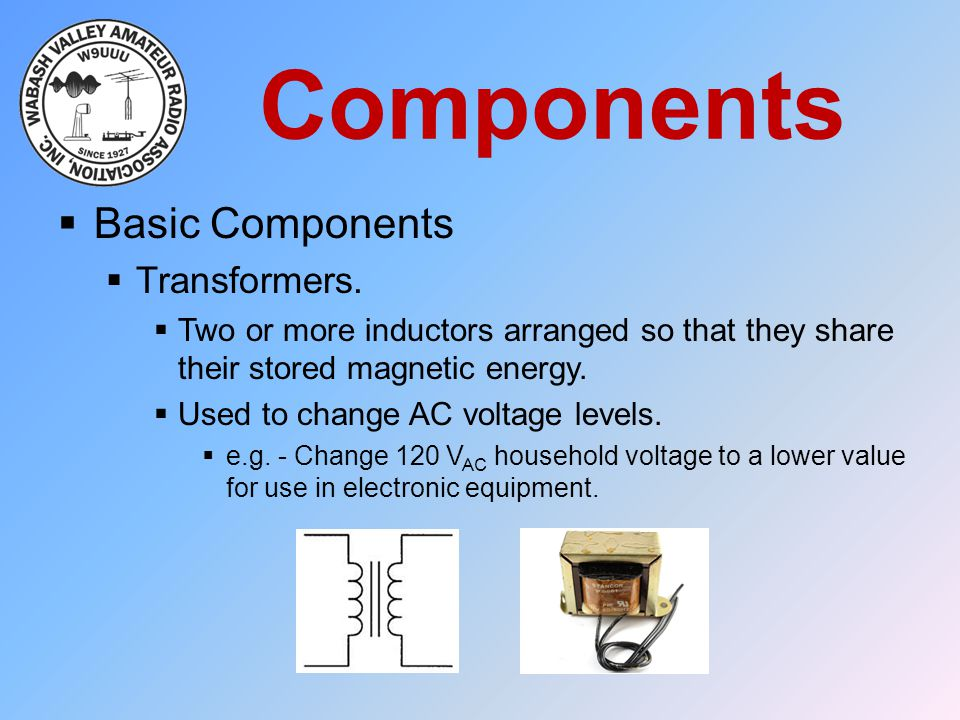 Components Basic Components Transformers.