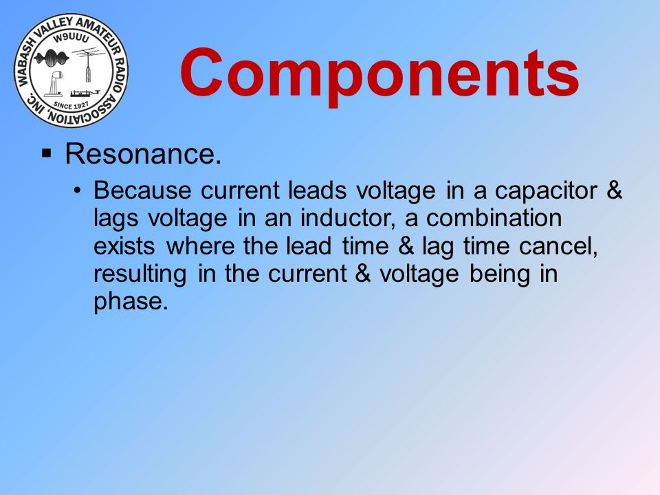 Components Resonance.