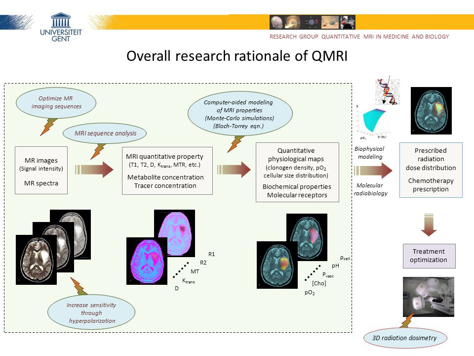 Overall research rationale of QMRI