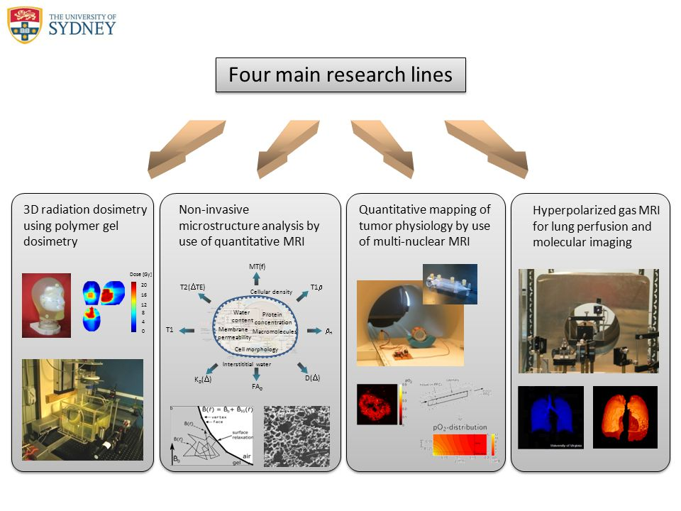 Four main research lines