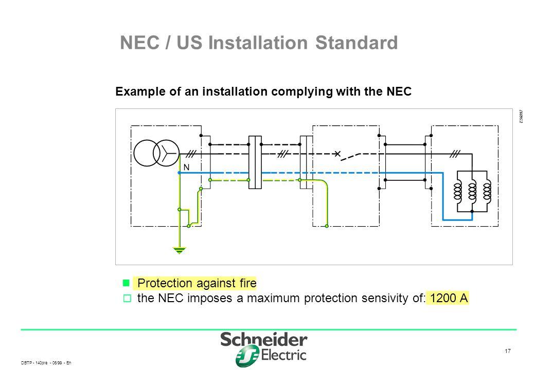 NEC / US Installation Standard