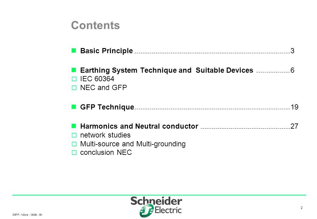 Contents Basic Principle 3