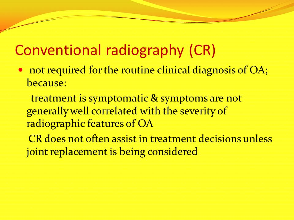 Conventional radiography (CR)